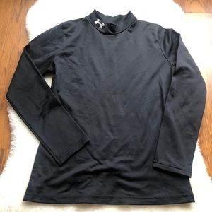 Under Armour Boys Fitted Long Sleeve Cold Gear YLG